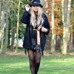 How to wear a poncho with Newlook #2