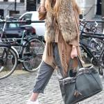 Fringes, fur and DZ bag!