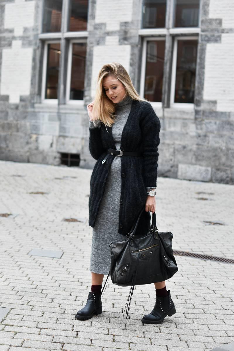 Comment porter robe longue hiver