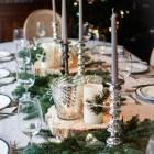 Decoration table de noel