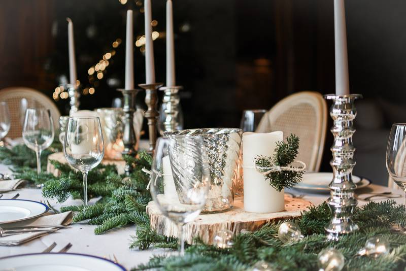 Decoration table de noel 5