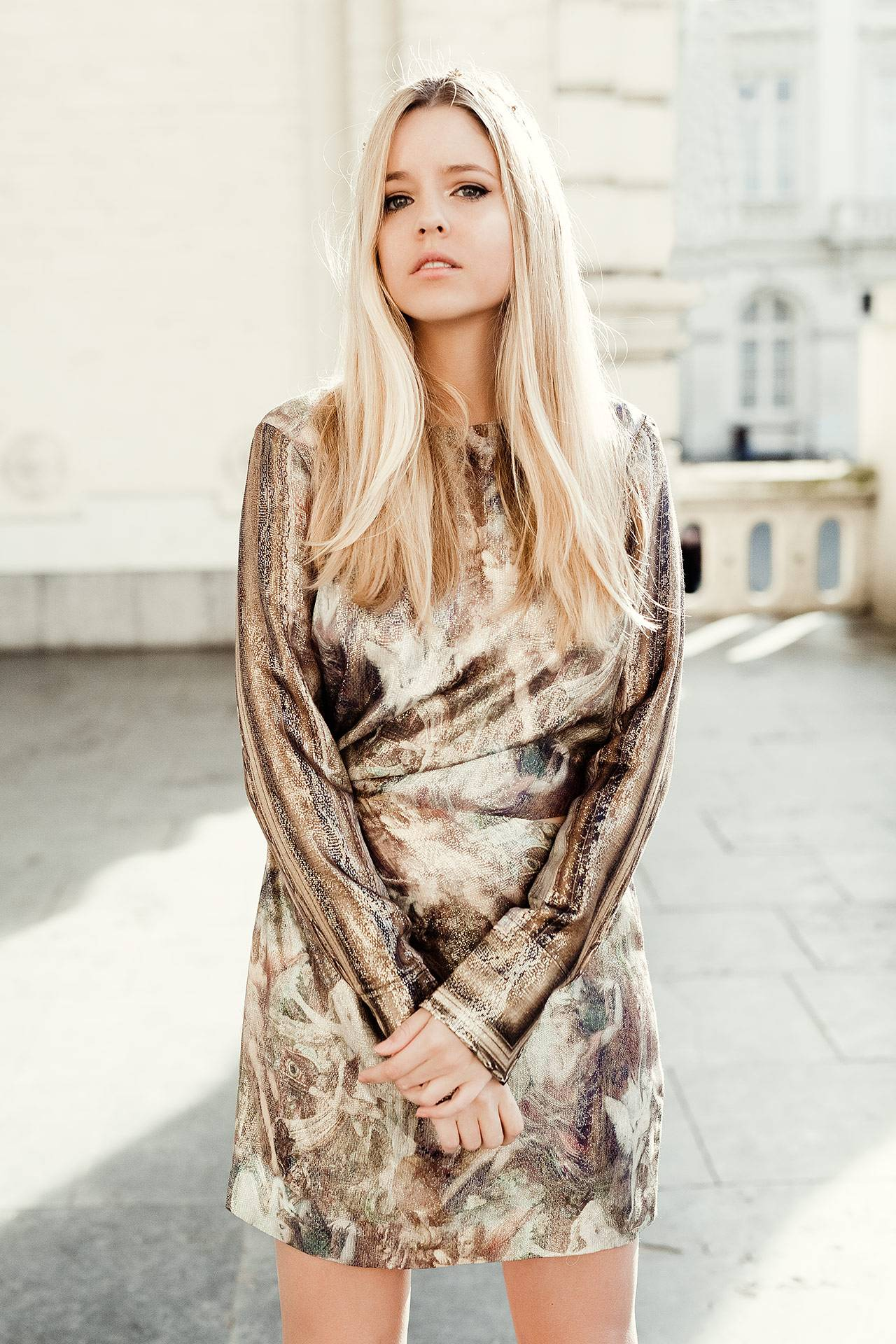 sale popular stores latest discount Collection conscious exclusive by H&M : la robe gold