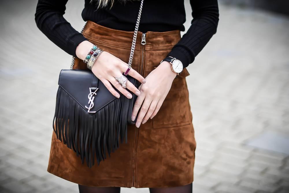Blog mode jupe en daim - 10