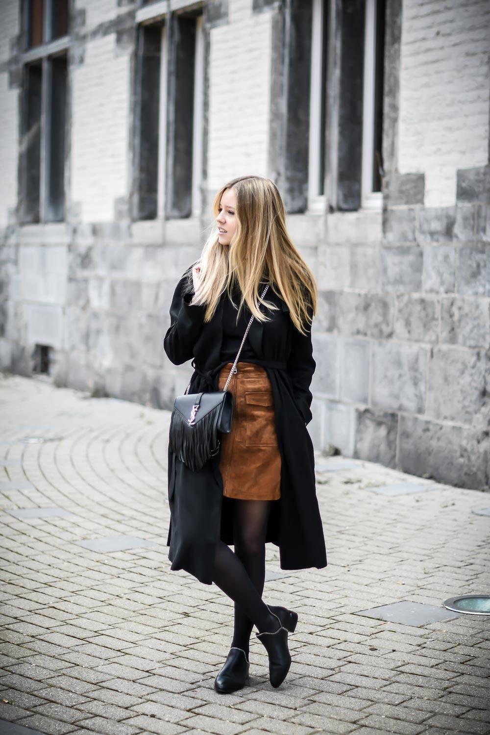 Blog mode jupe en daim - 5