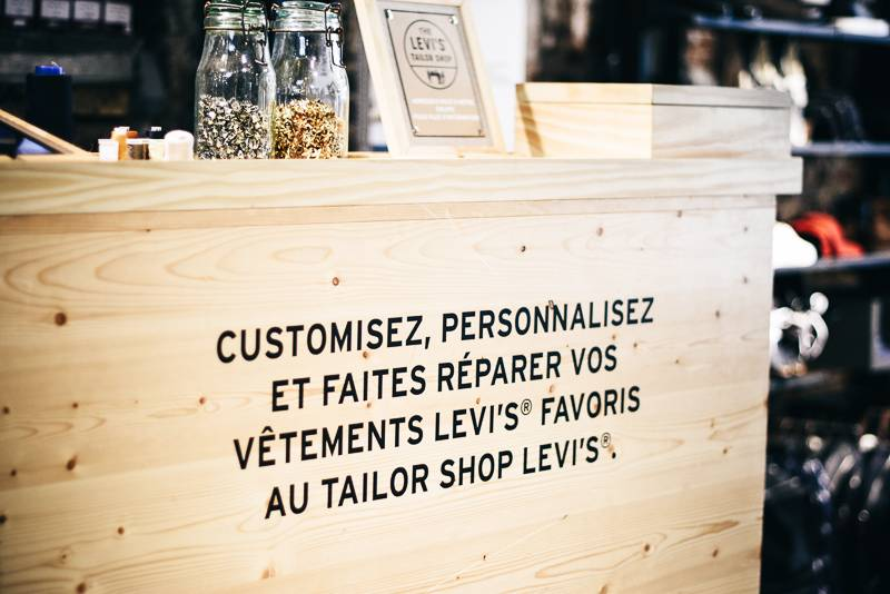 Tailor shop Levi's - 1