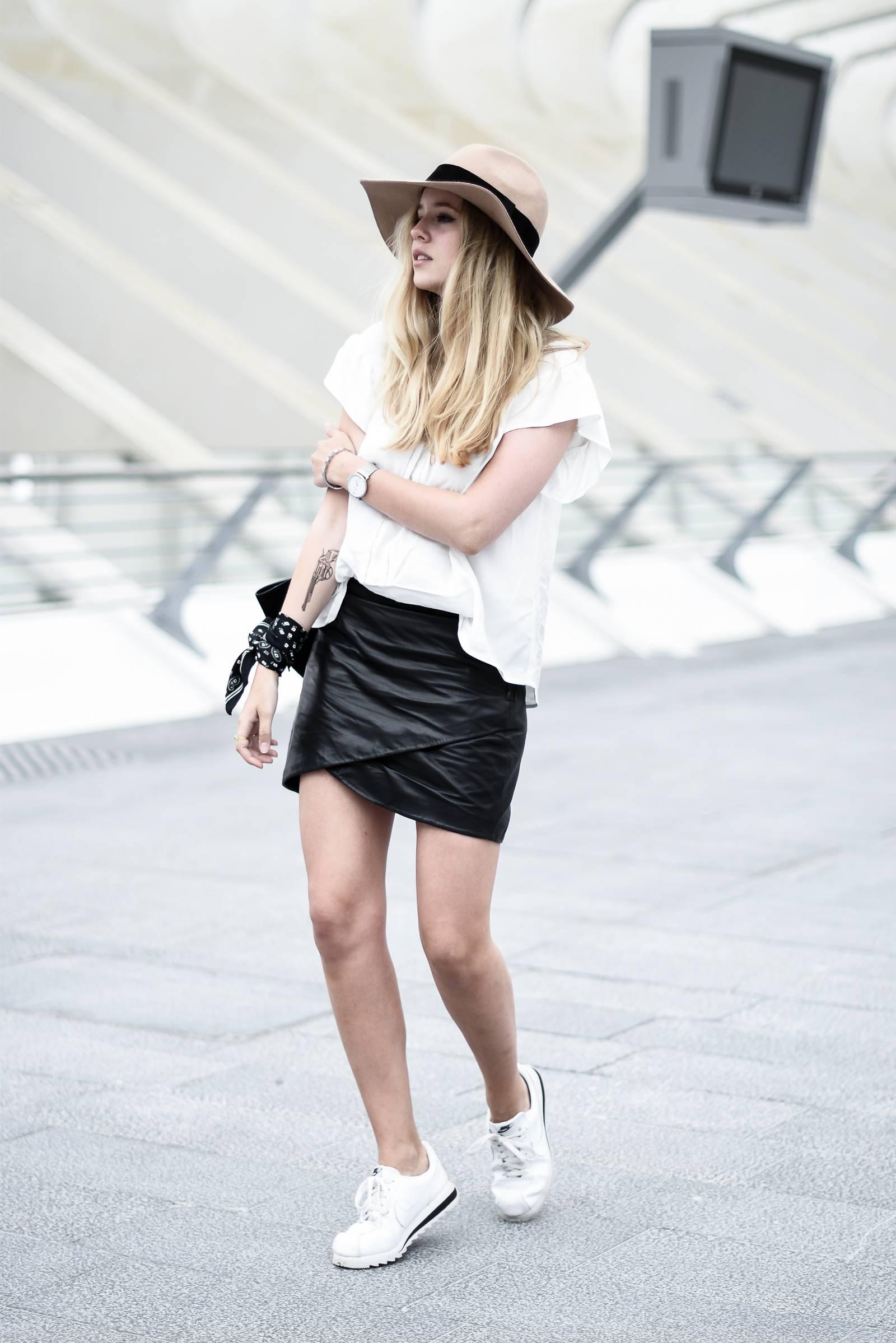 blog mode jupe en cuir - 12