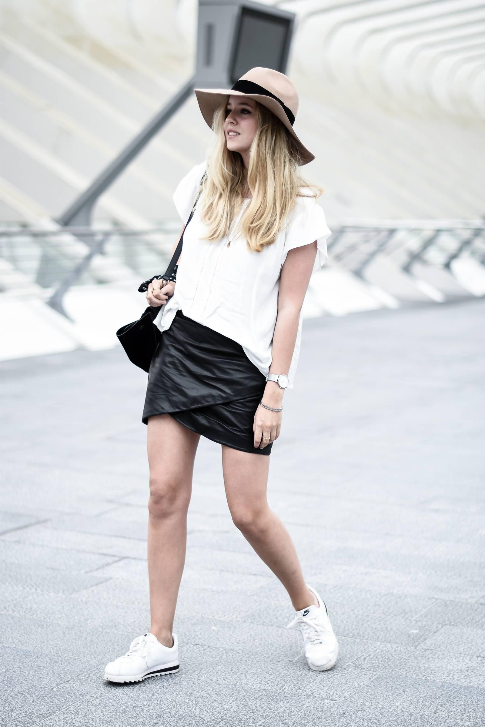 blog mode jupe en cuir - 5