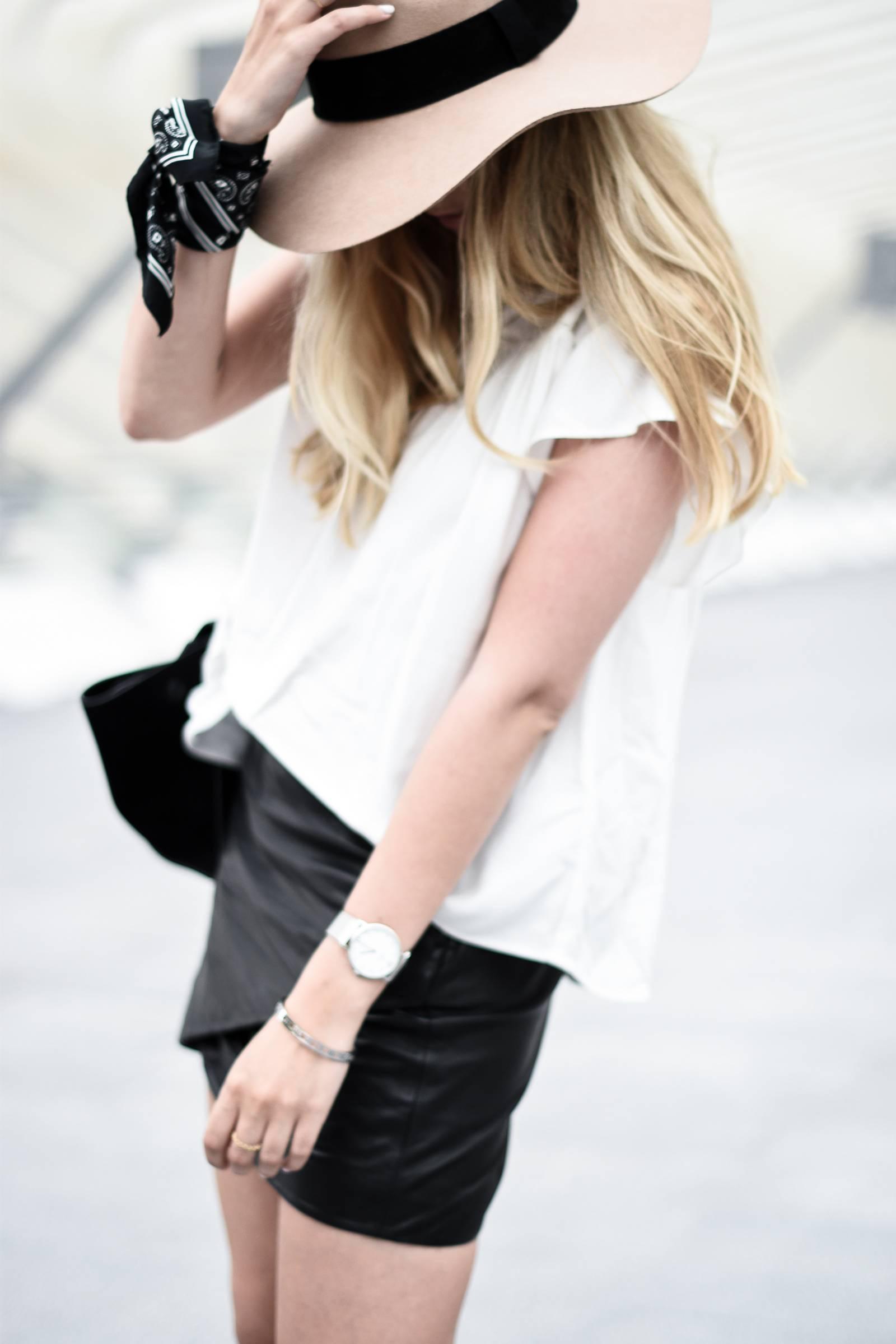 blog mode jupe en cuir - 7
