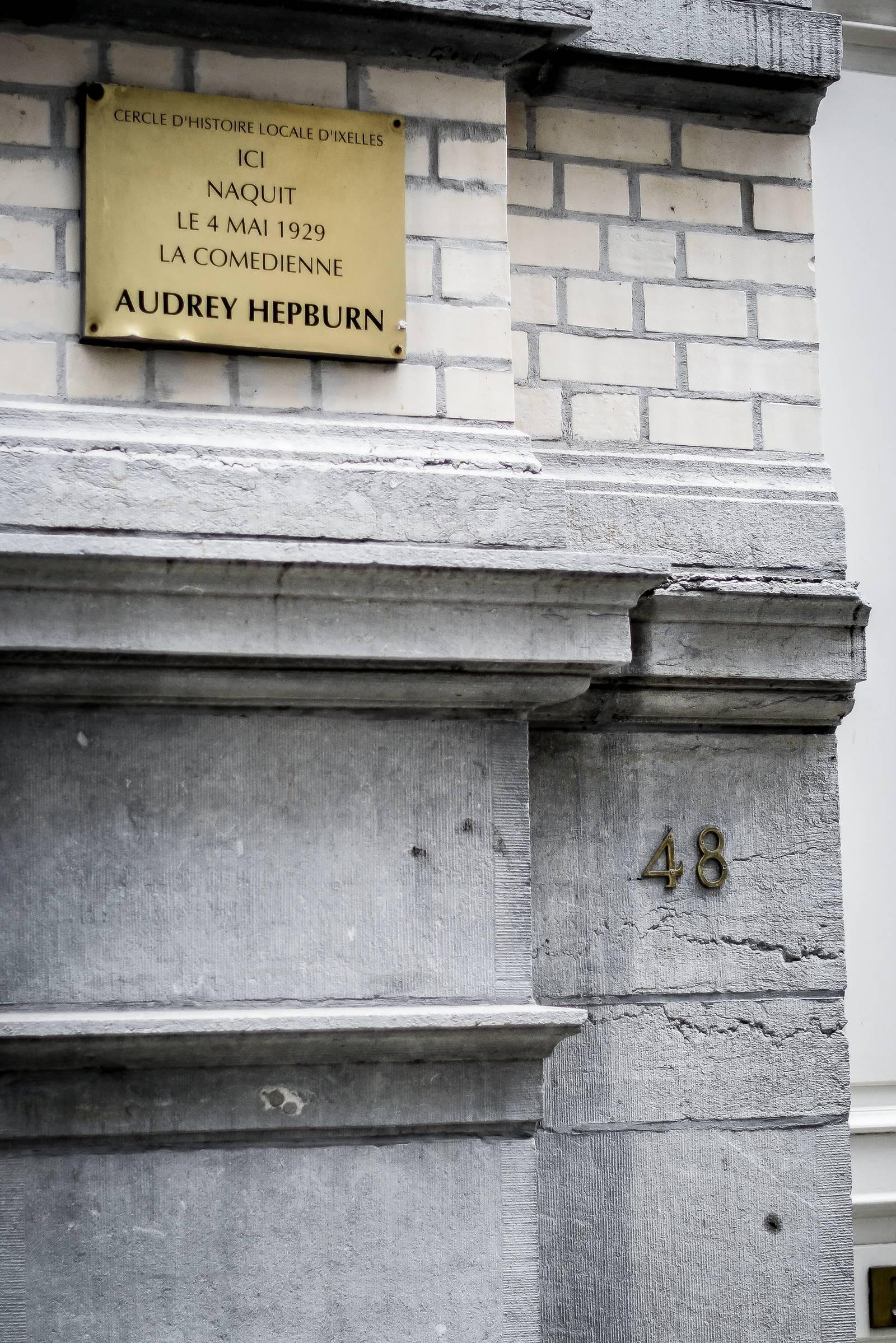 Audrey Hepburn Ixelles