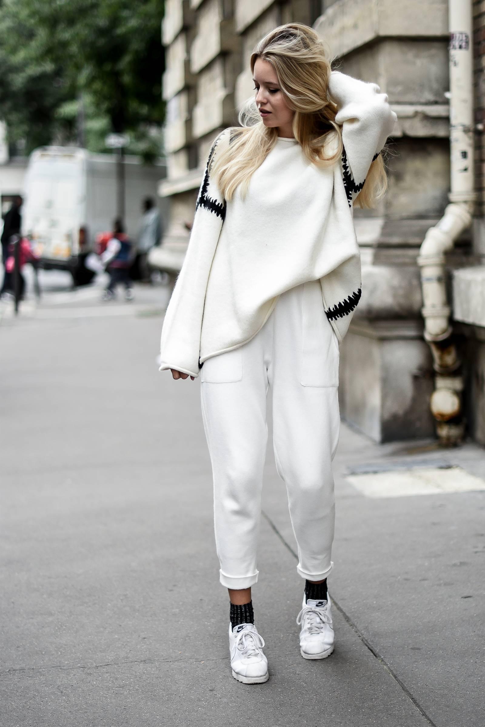 blog mode // total look blanc