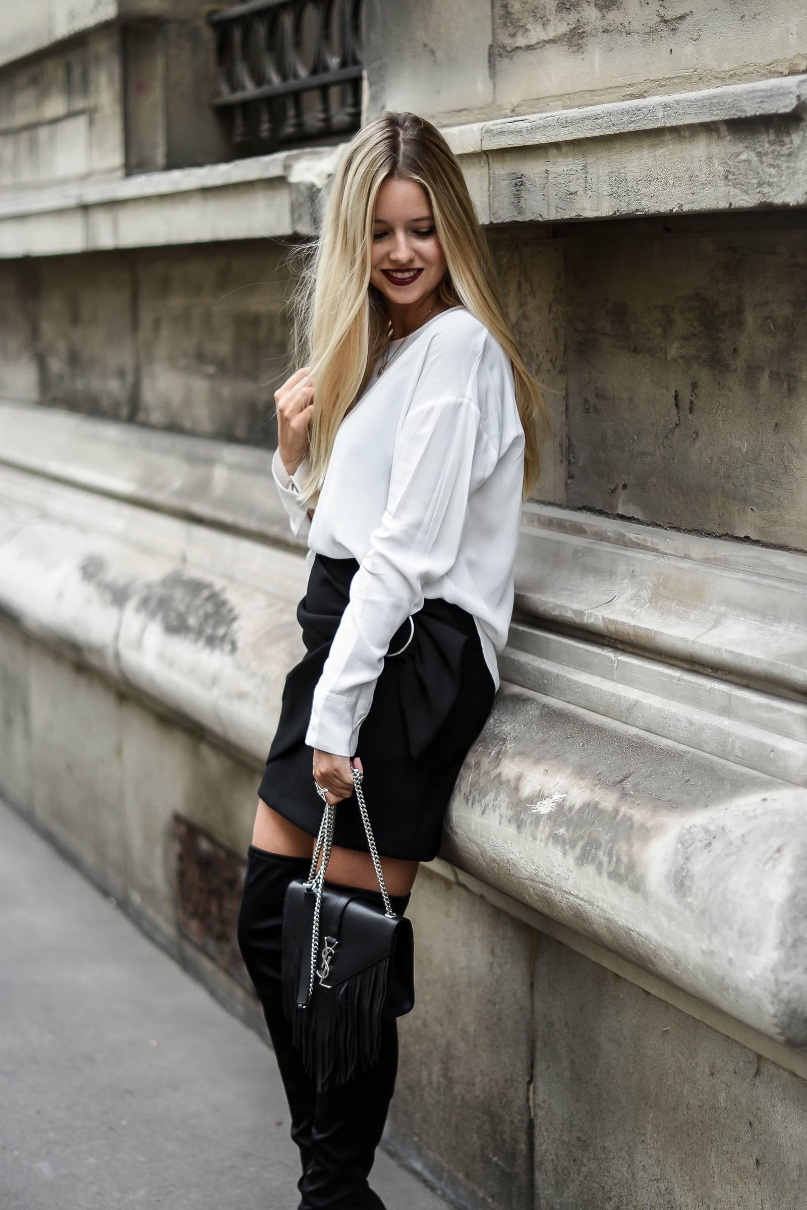 blog mode // look chic en cuissardes