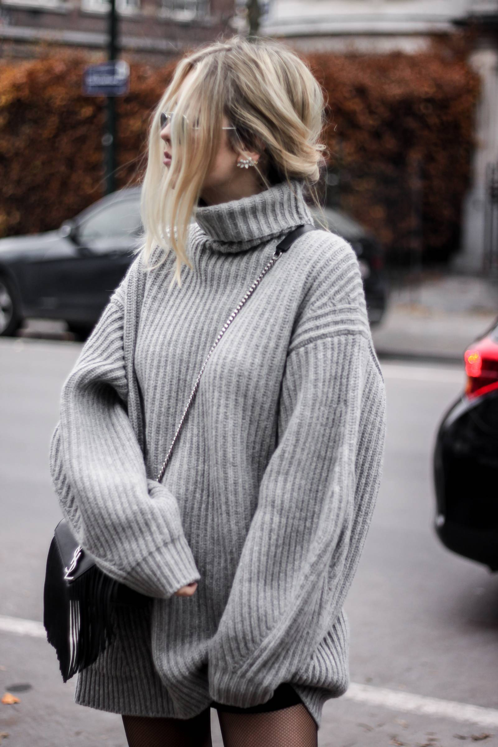 Blog mode // Robe pull oversize