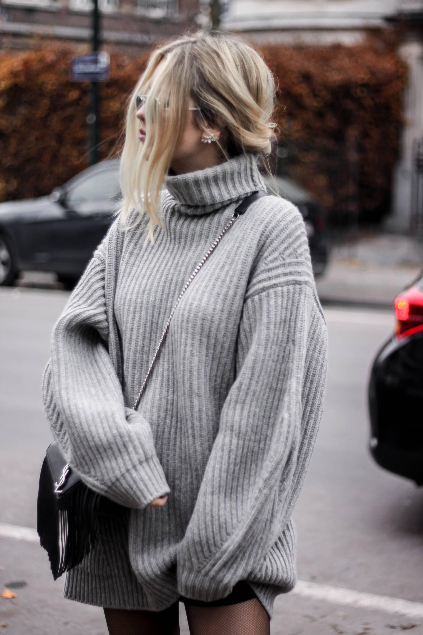 Blog mode // Robe pull oversize