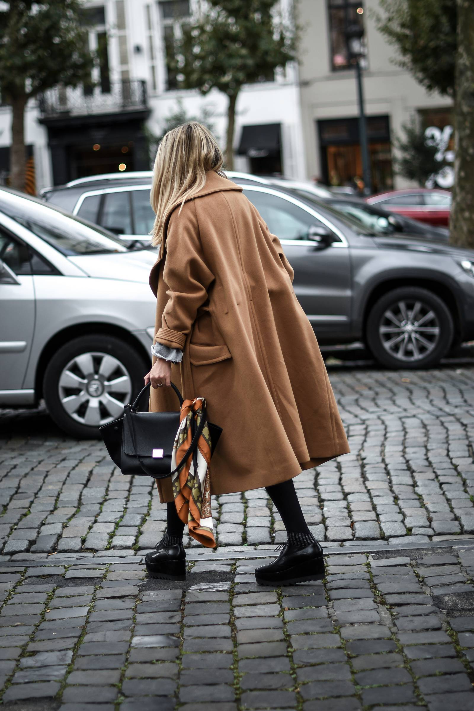 BLOG MODE // manteau camel oversize