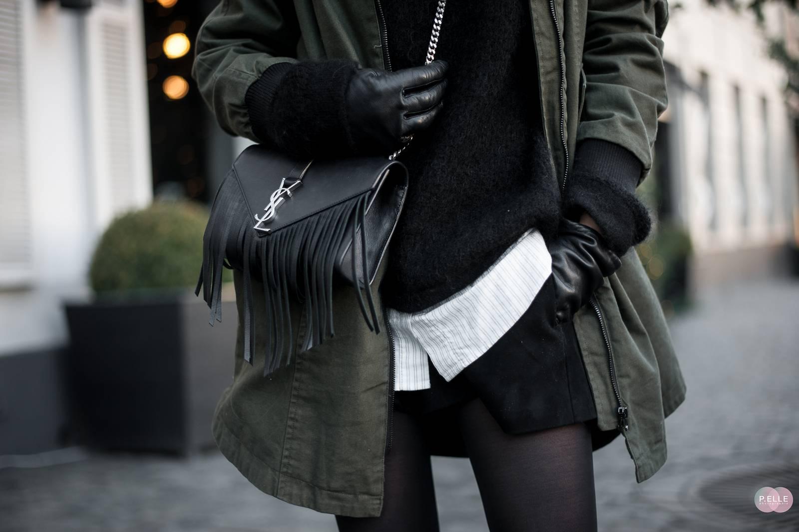 Blog mode // khaki parka