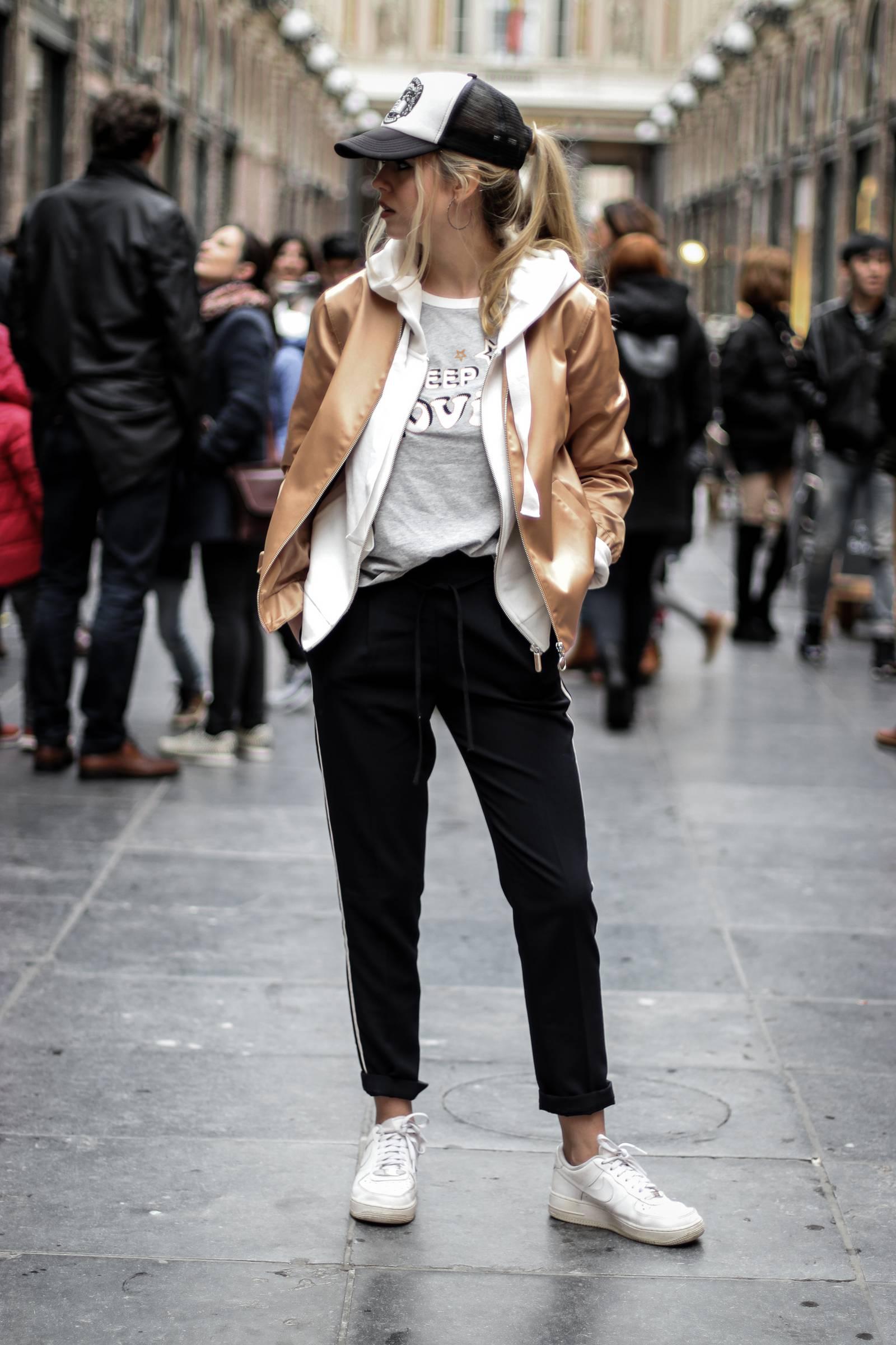 Sportswear outfit
