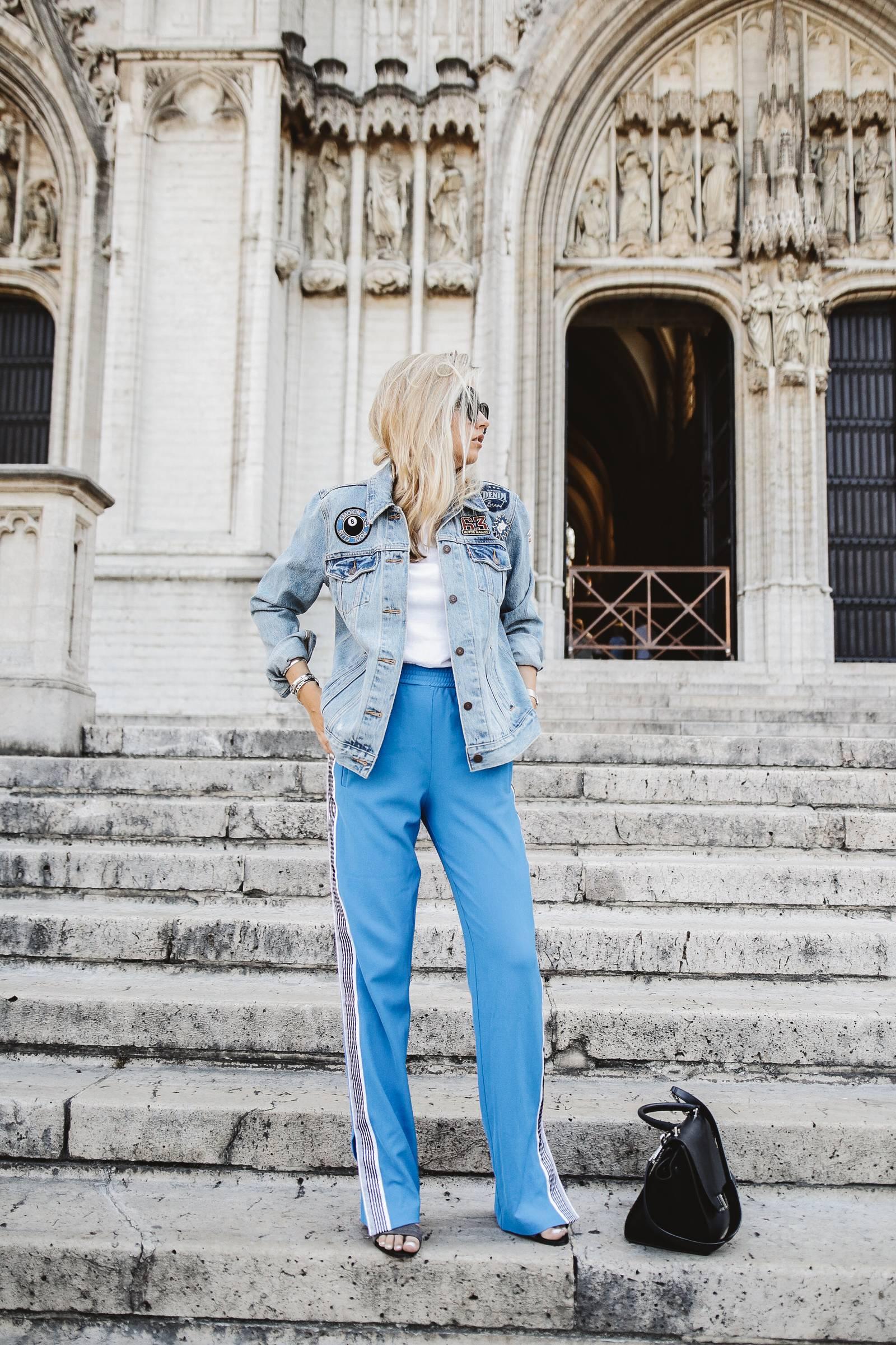 Pinko Pants / Sportswear outfit