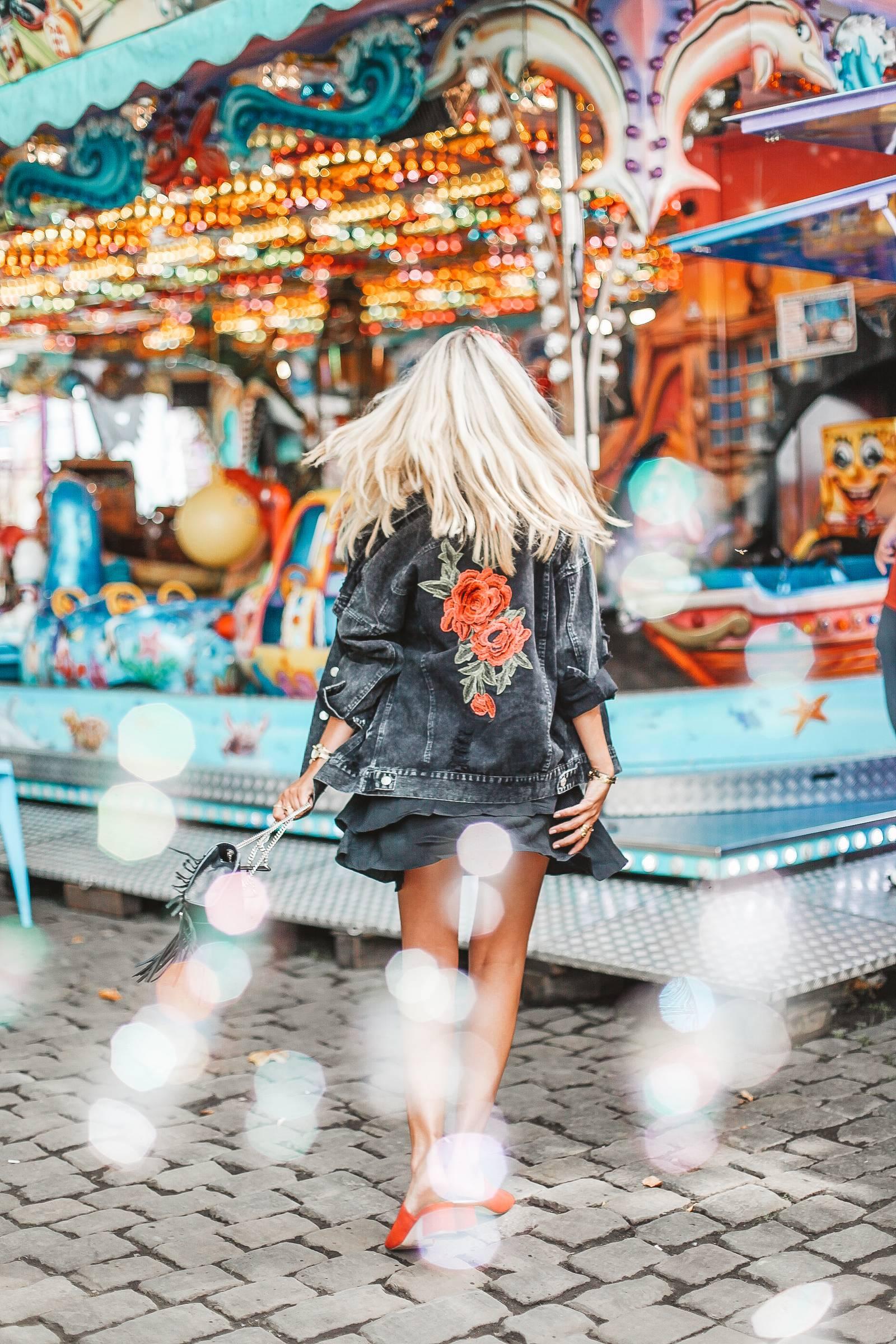Denim jacket at the fair