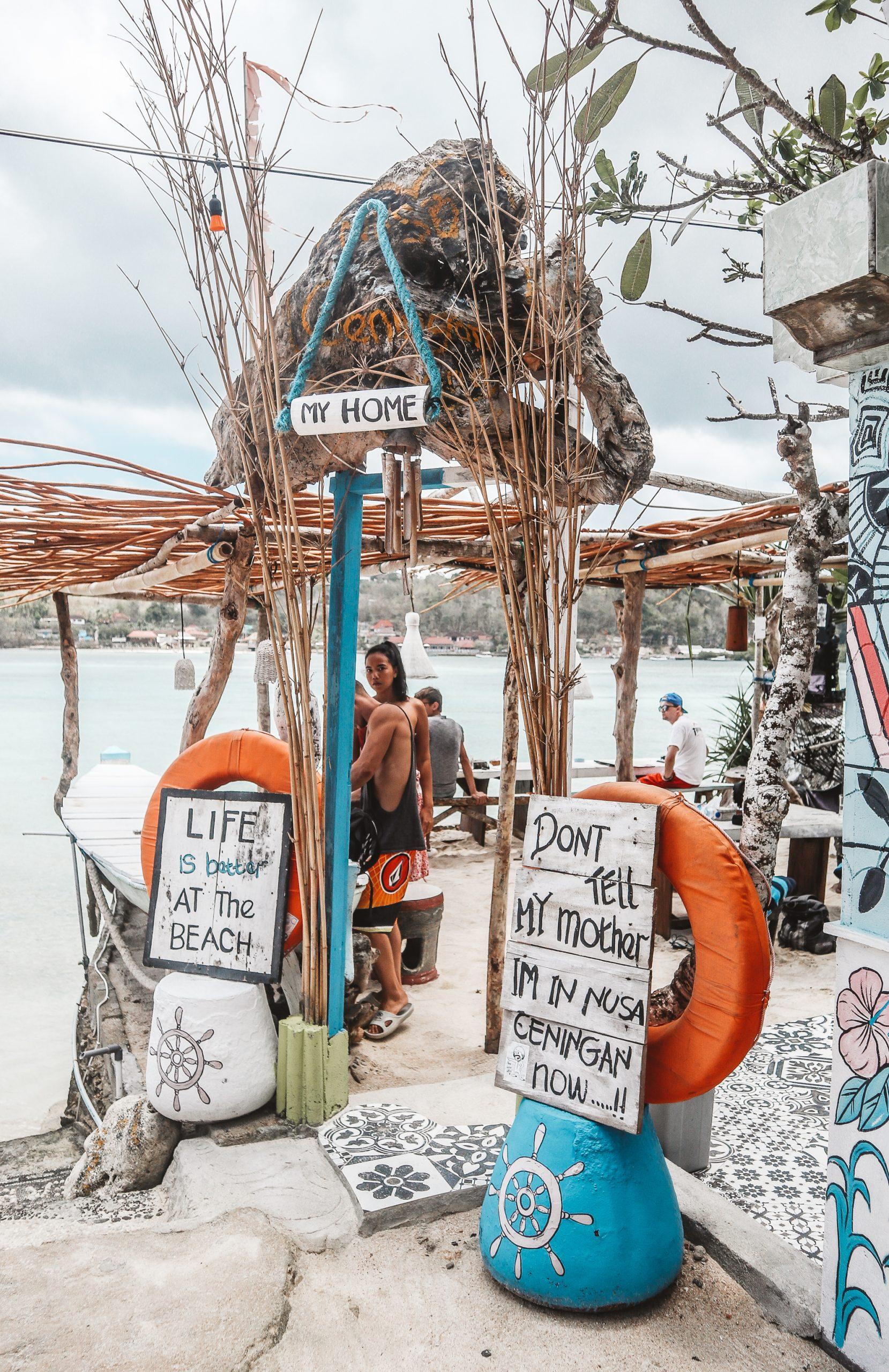 Sea Breeze, Warung, Nusa Ceningan