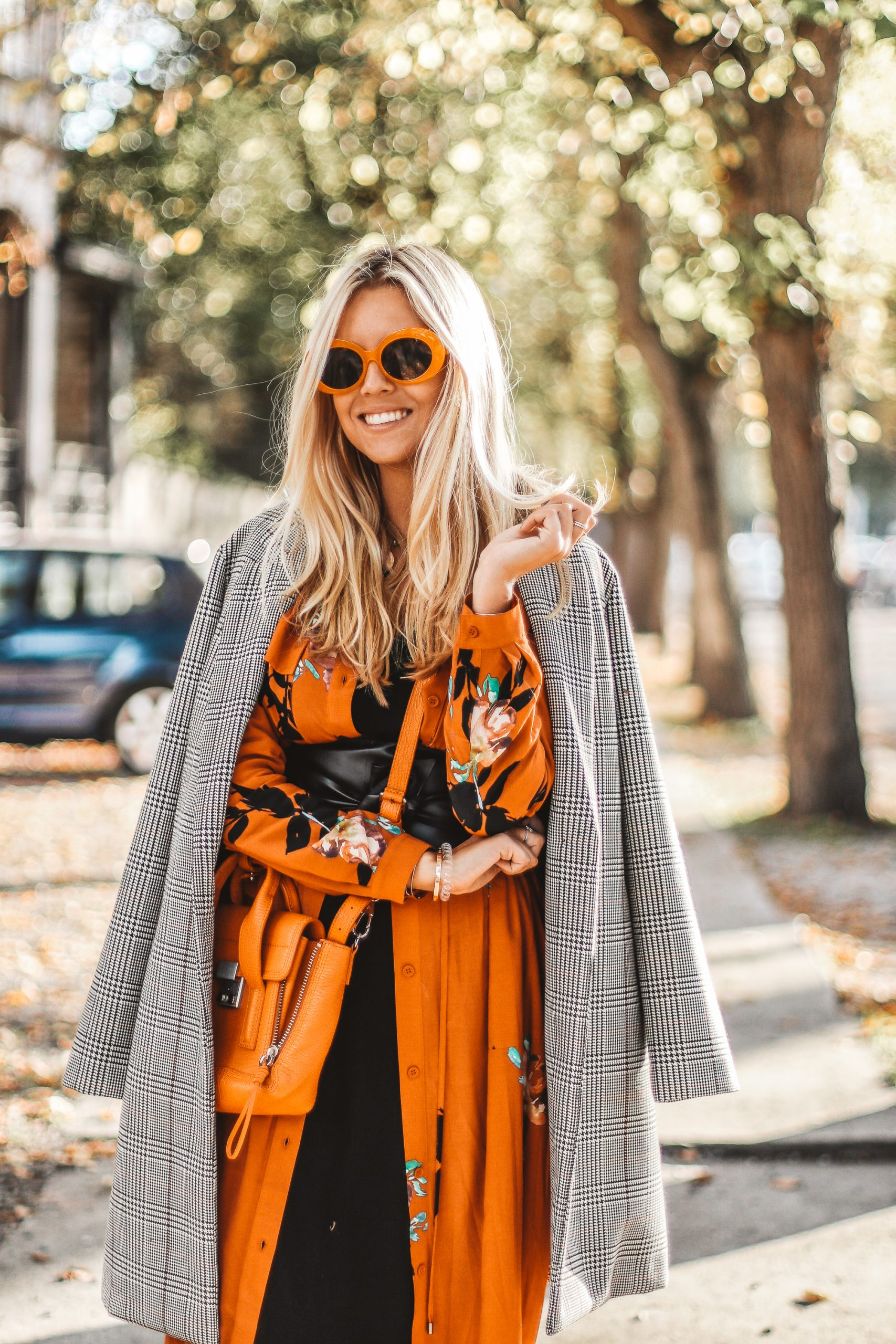 Autumn shades outfit // fashion blogger
