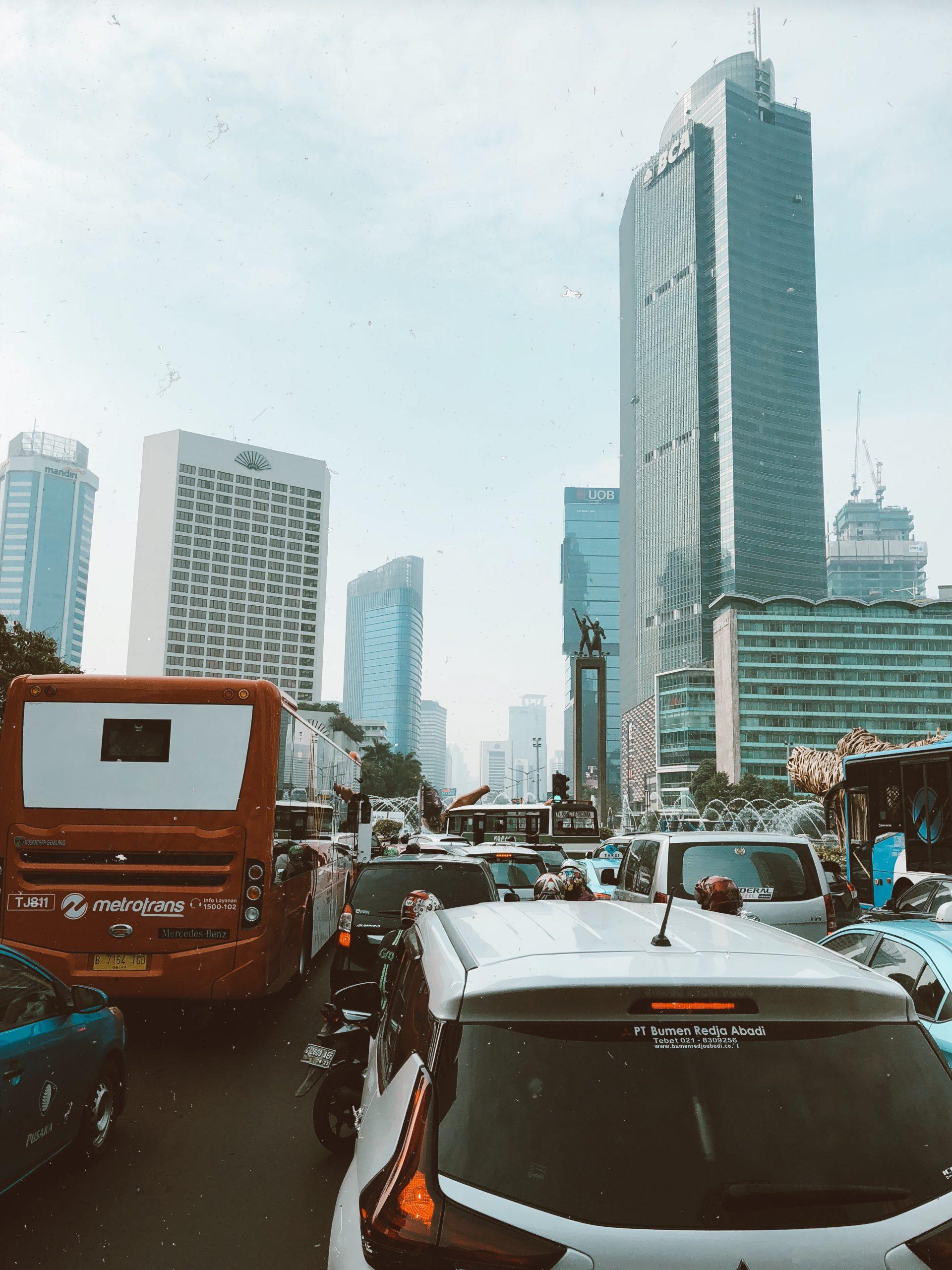Itinéraire à Jakarta, Indonésie