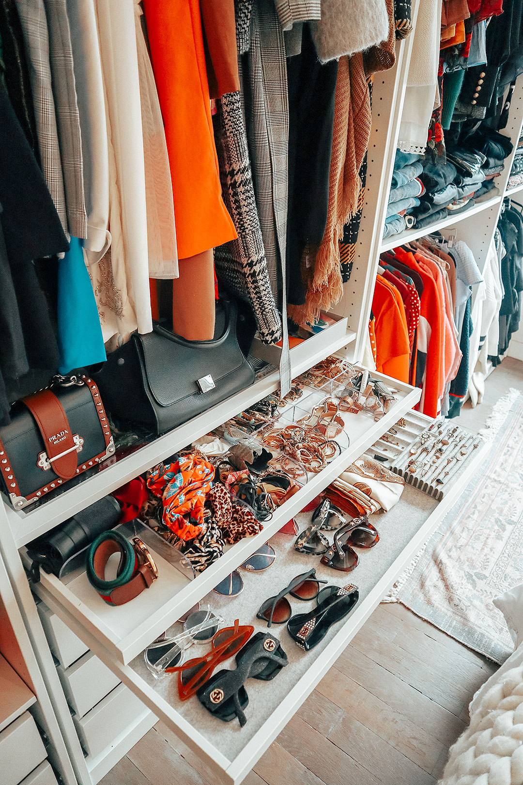 Dressing, comment l'organiser