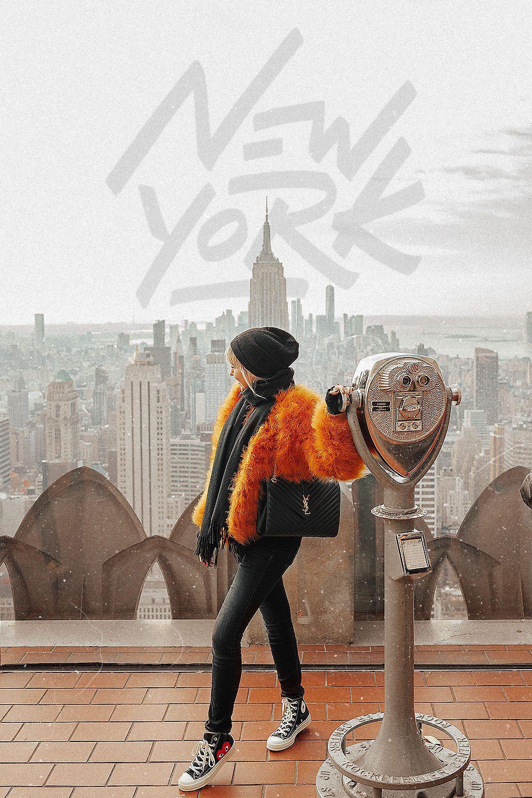 Itinéraire pour un voyage à New-York