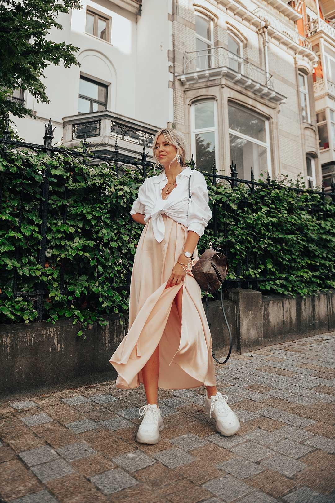 Comment porter la robe nuisette? Trois looks, trois styles.