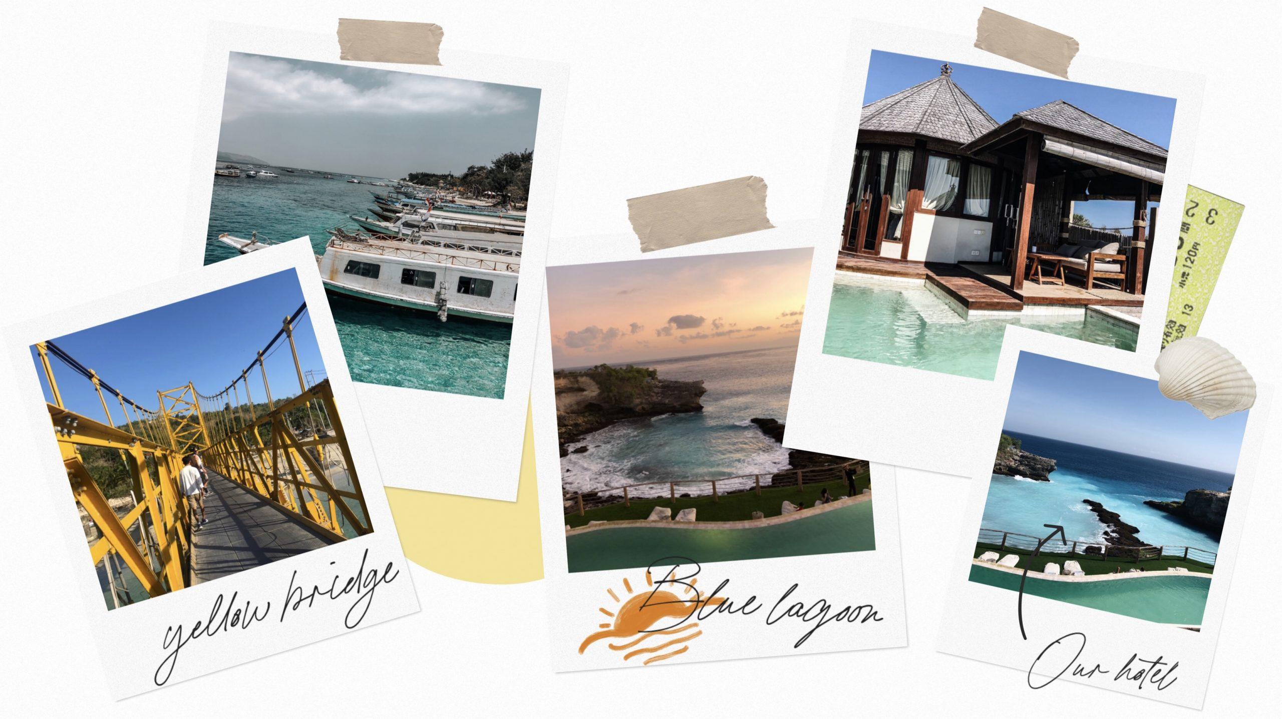 Bali plages piscines