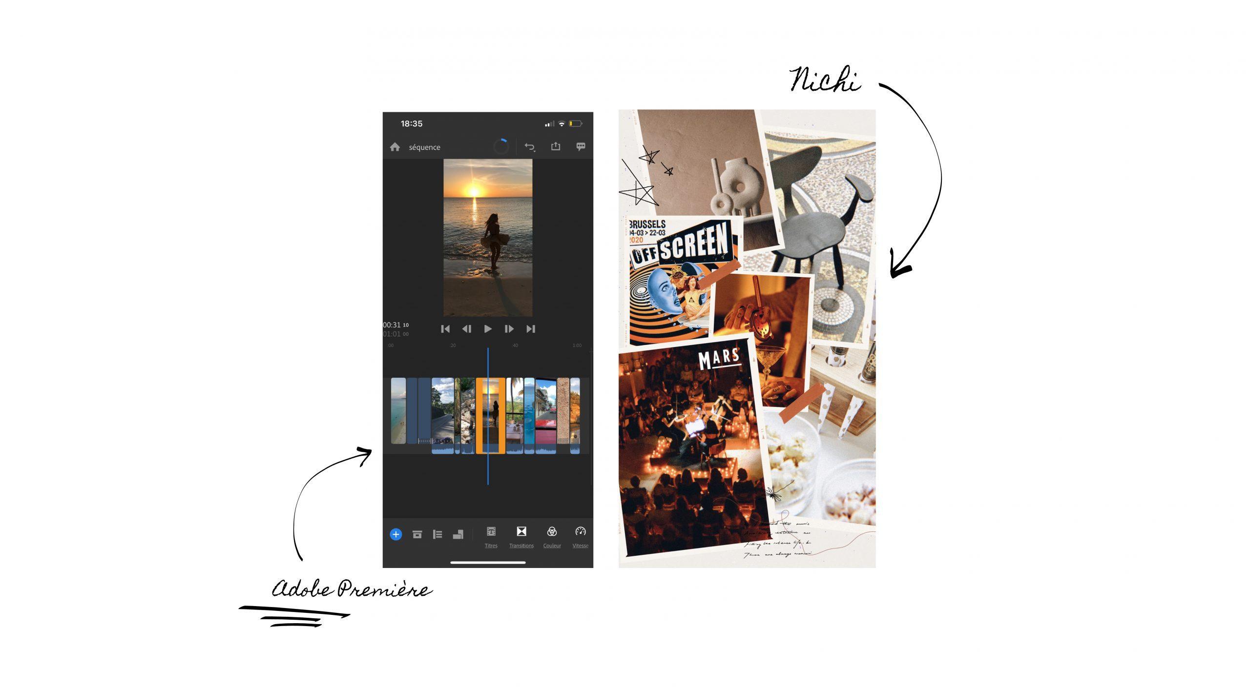 Explications logiciels Instagram