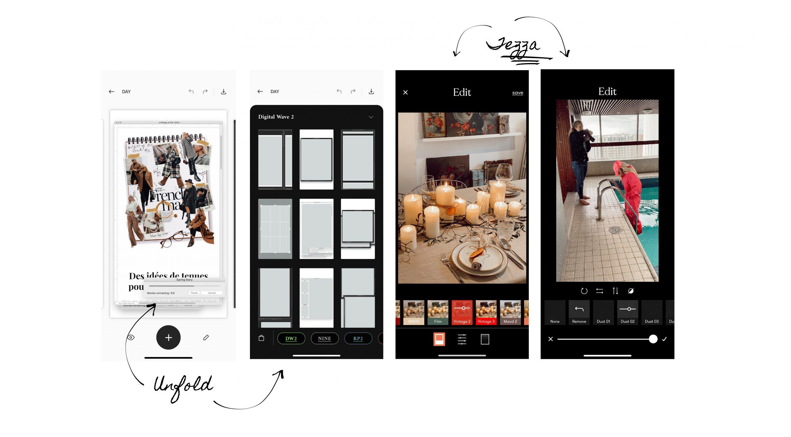 Explications Instagram apps
