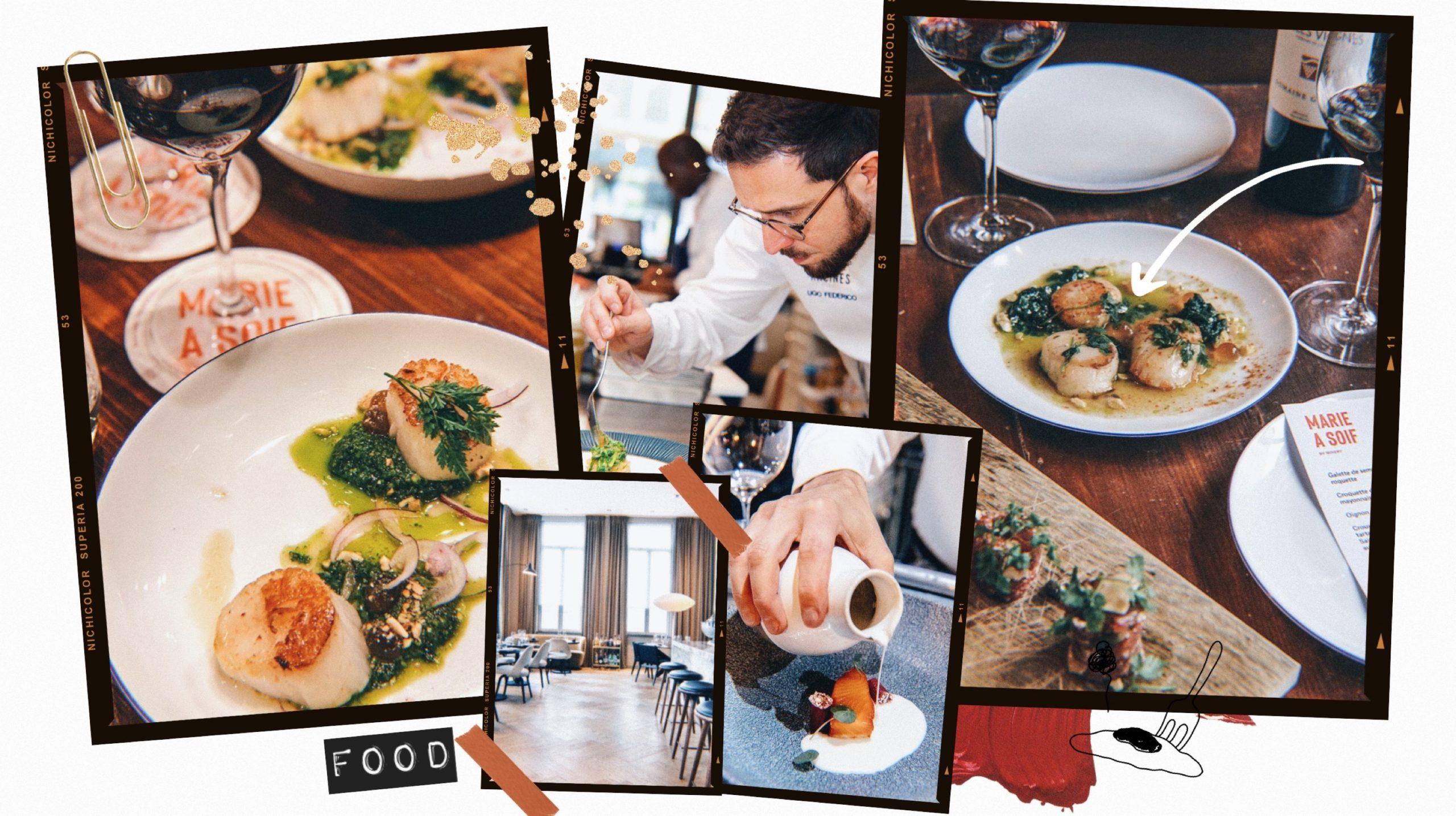 restaurants bruxelles février
