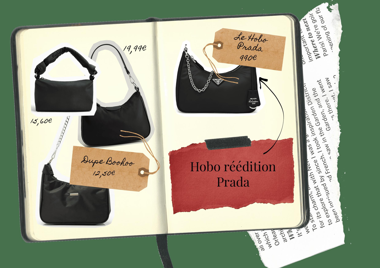 Sac le Hobo réédition Prada