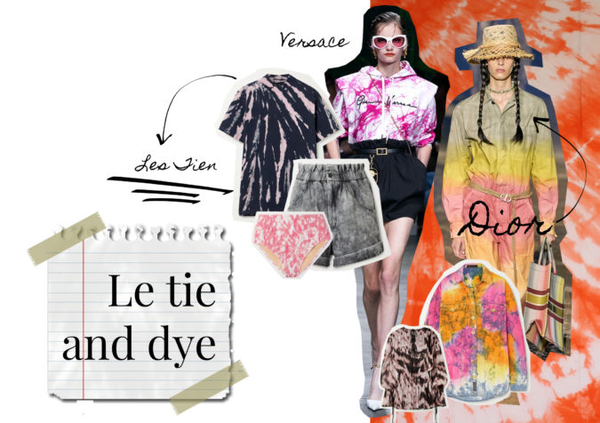 tendance 2020 le tie and dye