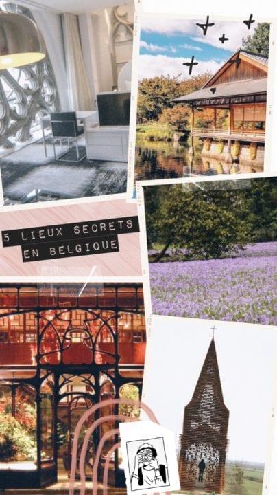 Lieux secrets en Belgique