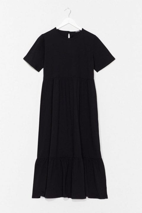 robe noire Nasty Gal