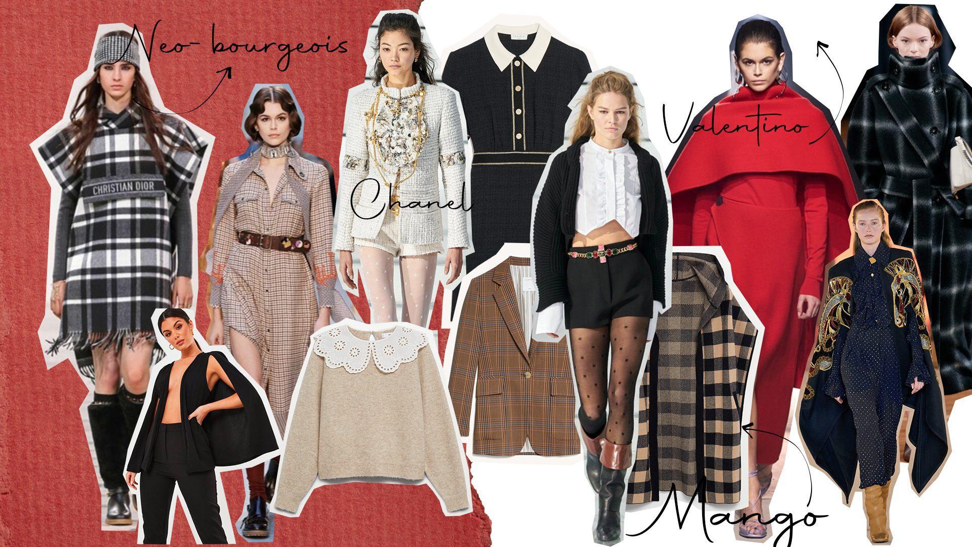 Tendances mode automne hiver