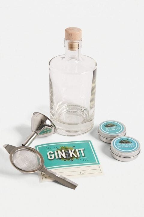 Kit pour faire son Gin Urban Outfitters