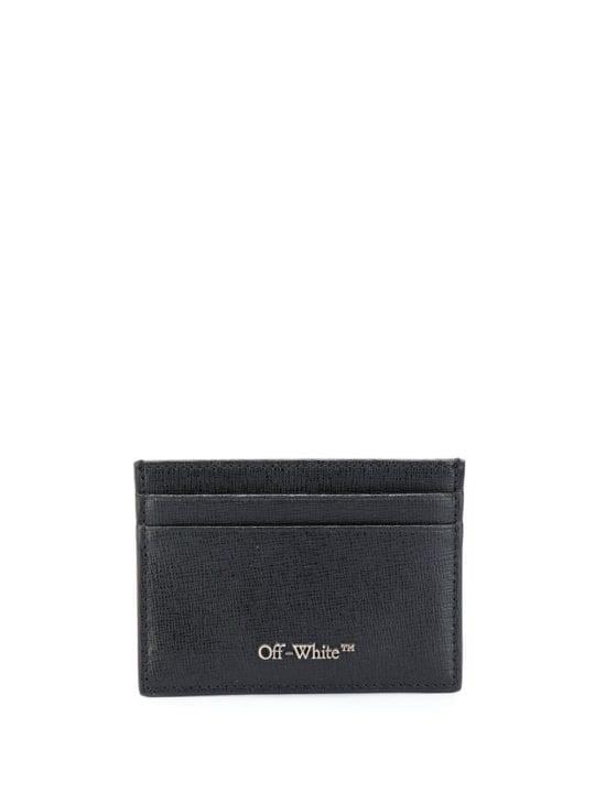Porte carte noir off white