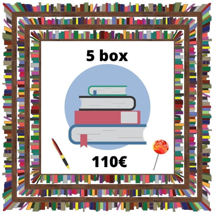 Box de 5 livres - Escape with a book