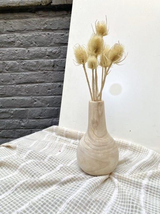Vase en bois - Nomad Interior