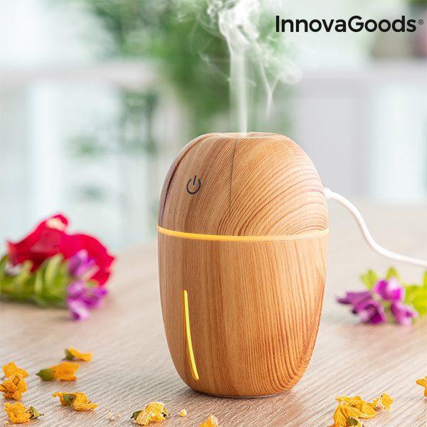 Mini humidificateur diffuseur d'arômes Honey Pine Boutique du Geek