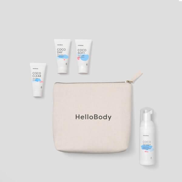 Set coco mini Hello body