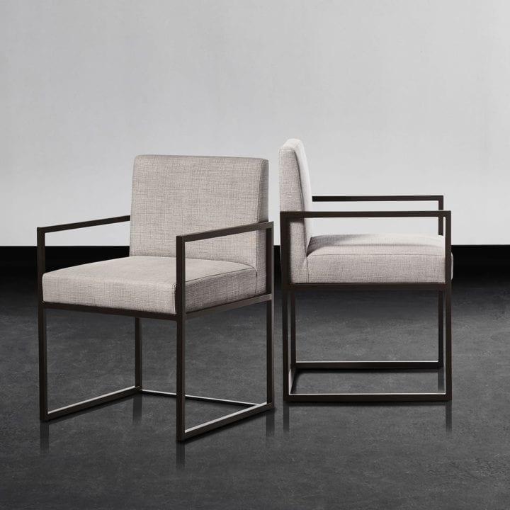 Chaise grise - XVL