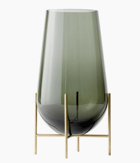 Vase à poser au sol en verre soufflé WestWing