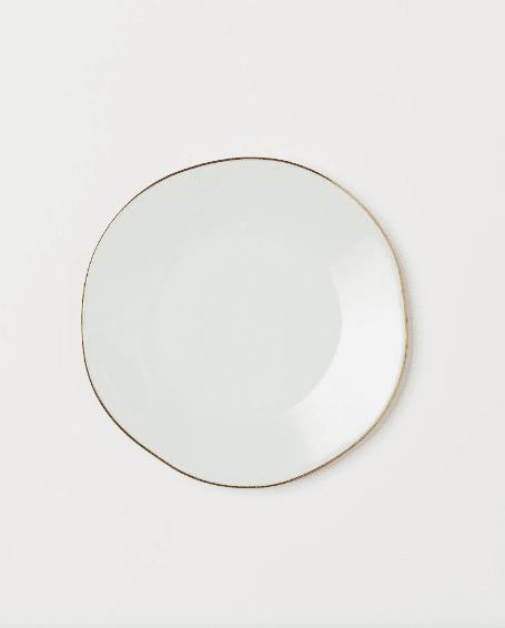 Assiette en céramique H&M