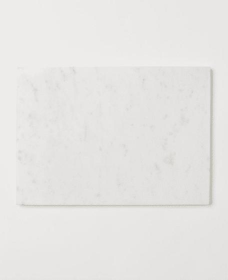 Plateau de service en marbre H&M