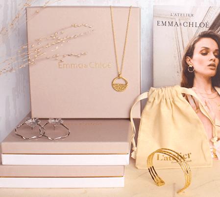 Box bijoux 3 mois Emma et Chloé