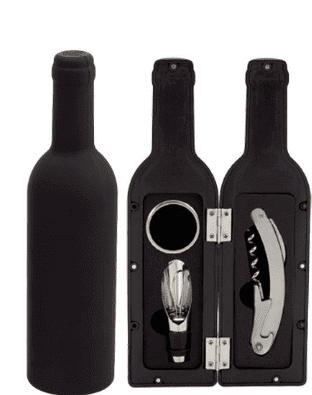 Boîte à Bouteille de Vin (3 pcs) Boutique du Geek