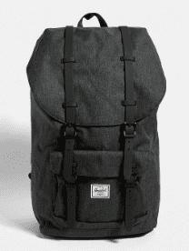 Herschel - Sac à dos gris avec sangles en caoutchouc - Urban Outfitters